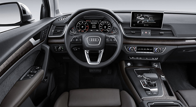 Audi Q5 2018 Philippines Steering Wheel