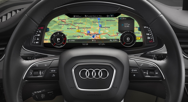 Audi Q7 2018 Philippines Steering Wheel
