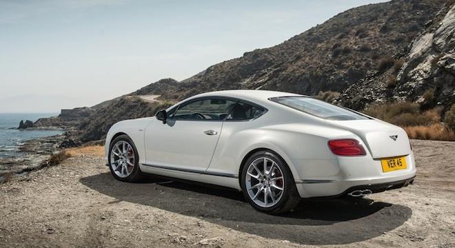 Bentley Continental GT 2018 side