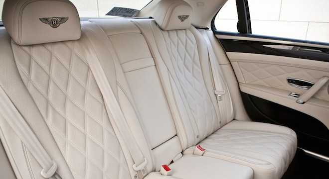 Bentley Flying Spur 2018 passenger seats