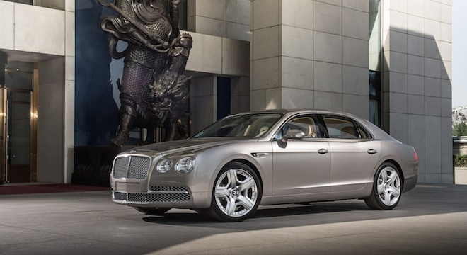 Bentley Flying Spur 2018 side