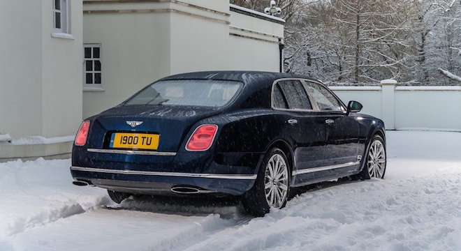 Bentley Mulsanne 2018 rear