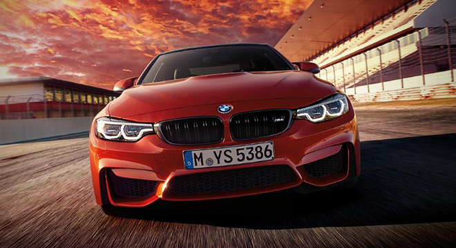 BMW M4 COUPE 2018 front
