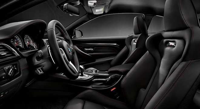BMW M4 COUPE 2018 interior