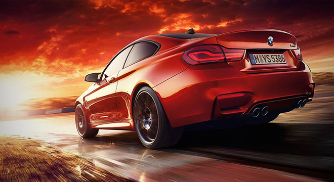 BMW M4 COUPE 2018 rear