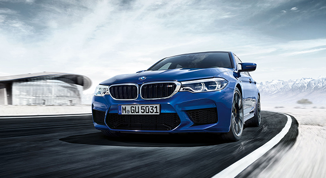BMW M5 with M xDrive 2018