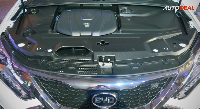 BYD Tang 2018 engine