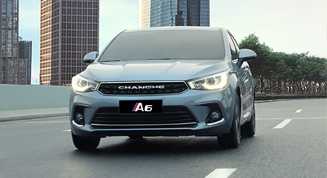 Changhe A6 front