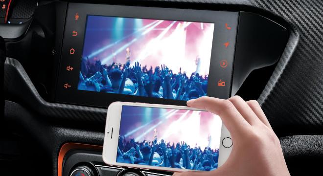 Chery Tiggo 2 Interior Smartphone Mirroring Feature