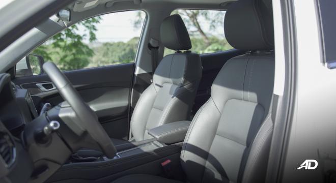 Chery Tiggo 5X Philippines Interior Driver Front Seats