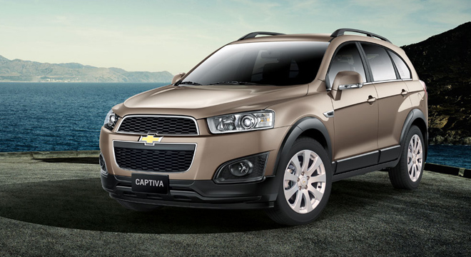 Chevrolet Captiva 2018 brand new