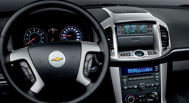 Chevrolet Captiva 2018 dashboard