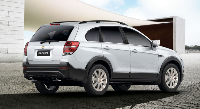 Chevrolet Captiva 2018 rear shot