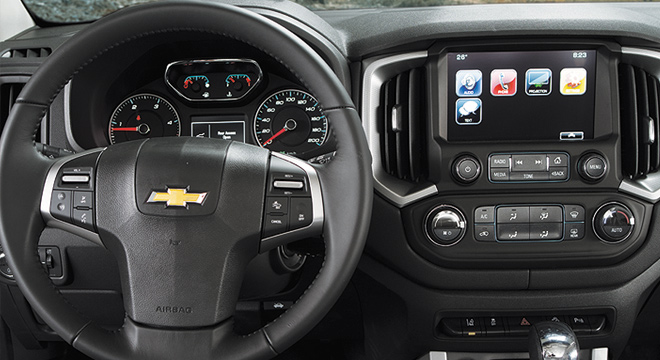 Chevrolet Colorado 2018 dashboard