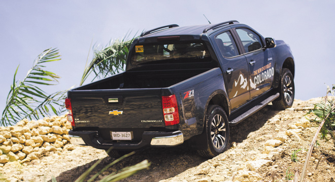 Chevrolet Colorado 2018 rear