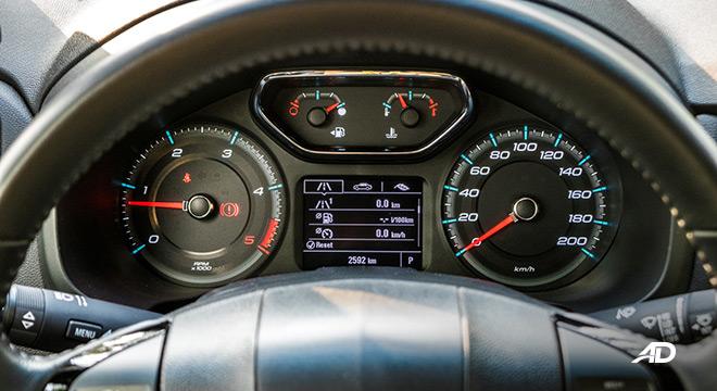chevrolet colorado high country storm road test interior instrument