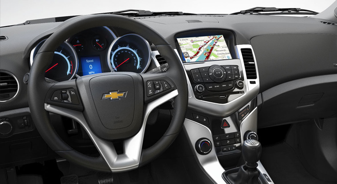 Chevrolet Cruze 2017 dashboard