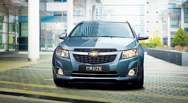 Chevrolet Cruze 2017 front