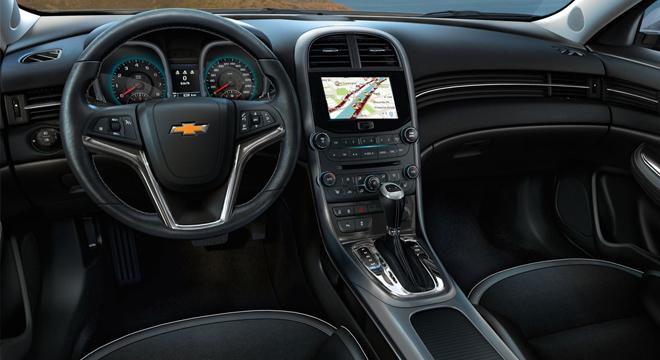 Chevrolet Malibu 2018 dashboard