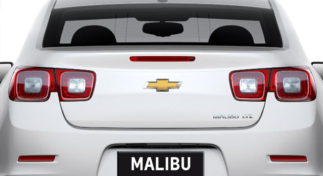 Chevrolet Malibu 2018 rear