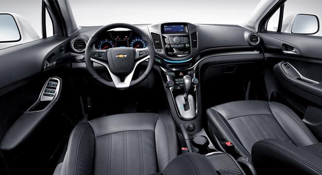 Chevrolet Orlando 2018 interior