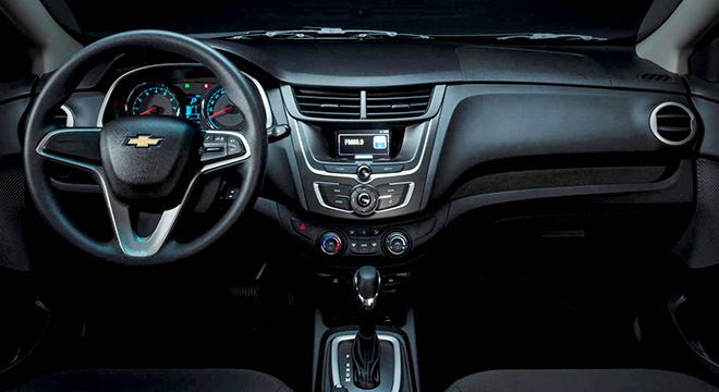 Chevrolet Sail 2018 interior