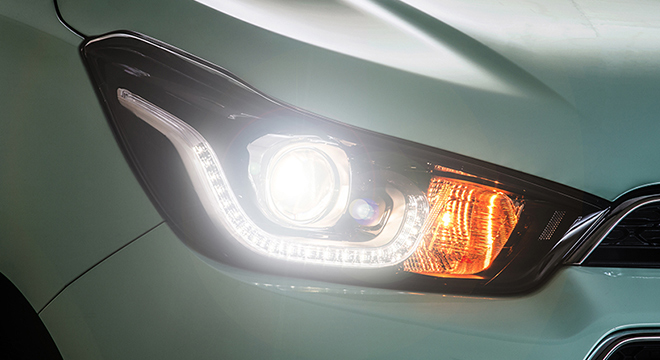 Chevrolet Spark 2018 headlight