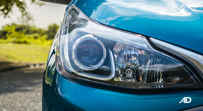 chevrolet spark road test exterior headlights