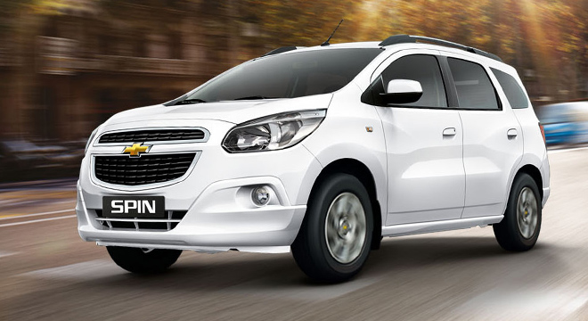 Chevrolet Spin 2019, Philippines Price & Specs | AutoDeal