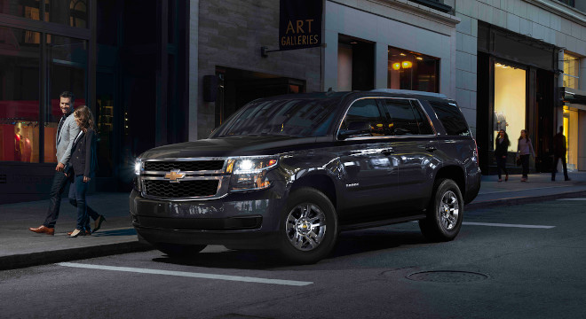 Chevrolet Tahoe Philippines Black Exterior Front Quarter