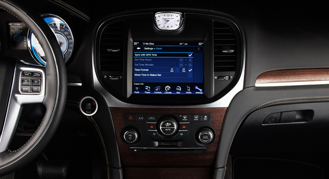 Chrysler 300C 2018 Philippines center console