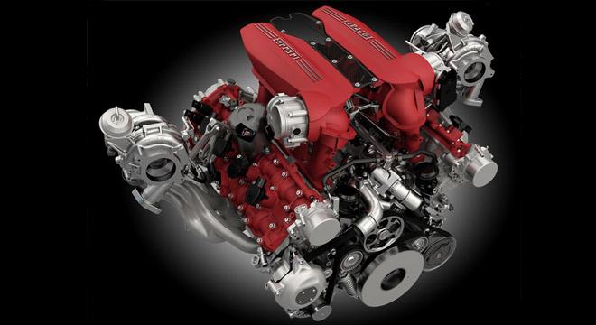 Ferrari 488 GTB 2018 engine