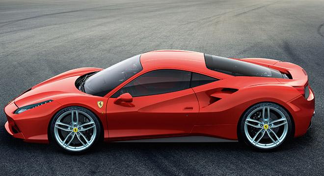 Ferrari 488 GTB 2018 side