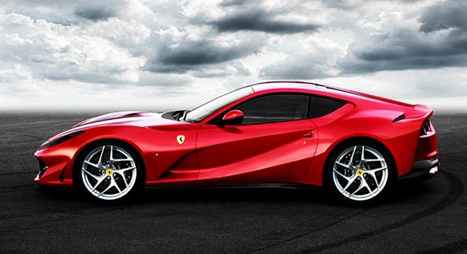 Ferrari 812 Superfast 2018 side