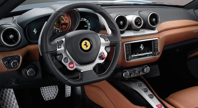Ferrari California 2018 interior