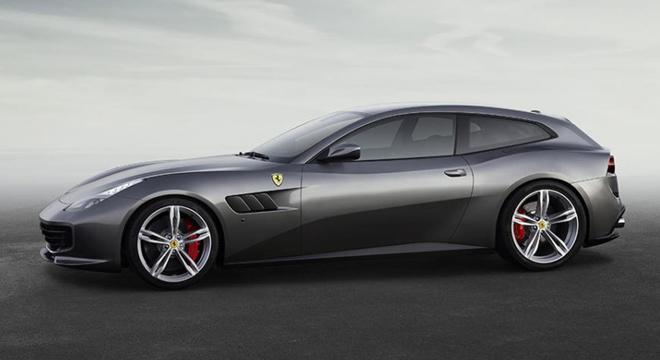Ferrari GTC4Lusso 2018 side