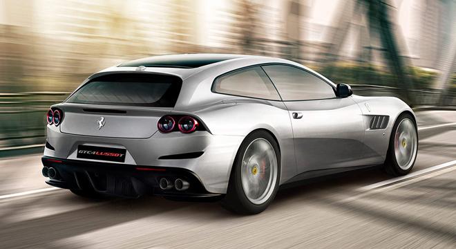 Ferrari GTC4Lusso T 2018 rear