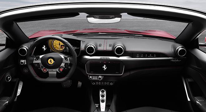 Ferrari Portofino 2019 dashboard