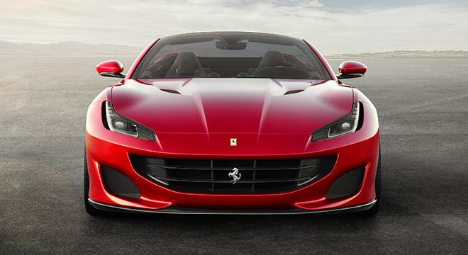 Ferrari Portofino 2019 face