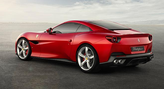 Ferrari Portofino 2019 rear