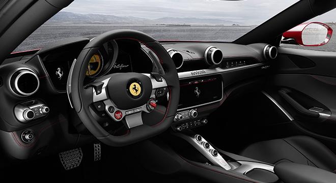 Ferrari Portofino 2019 steering wheel