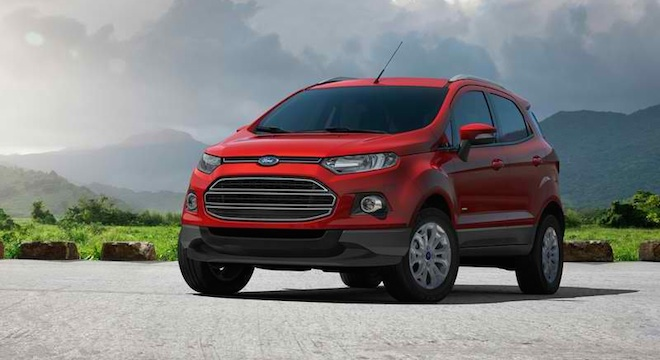 Ford EcoSport 2018 front