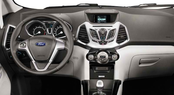 Superb Ford EcoSport 2018 Interior