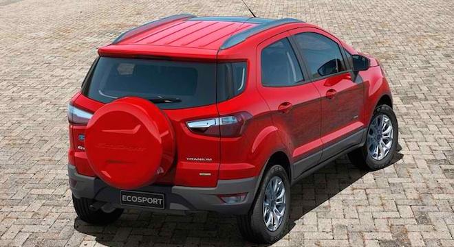 Ford EcoSport 2018 rear