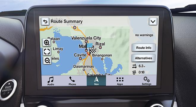 Ford EcoSport 2019 navigation