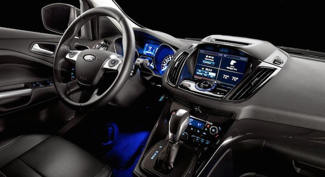 Ford Escape 2018 interior