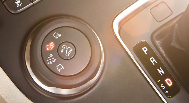 Ford Everest 2018 drive modes
