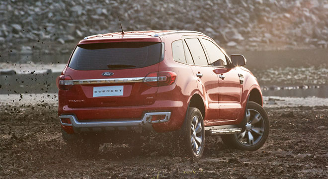 Ford Everest 2018 rear
