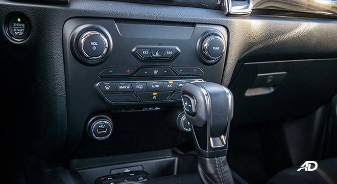 ford everest review road test climate control interior
