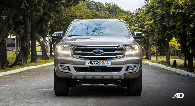 ford everest review road test front exterior